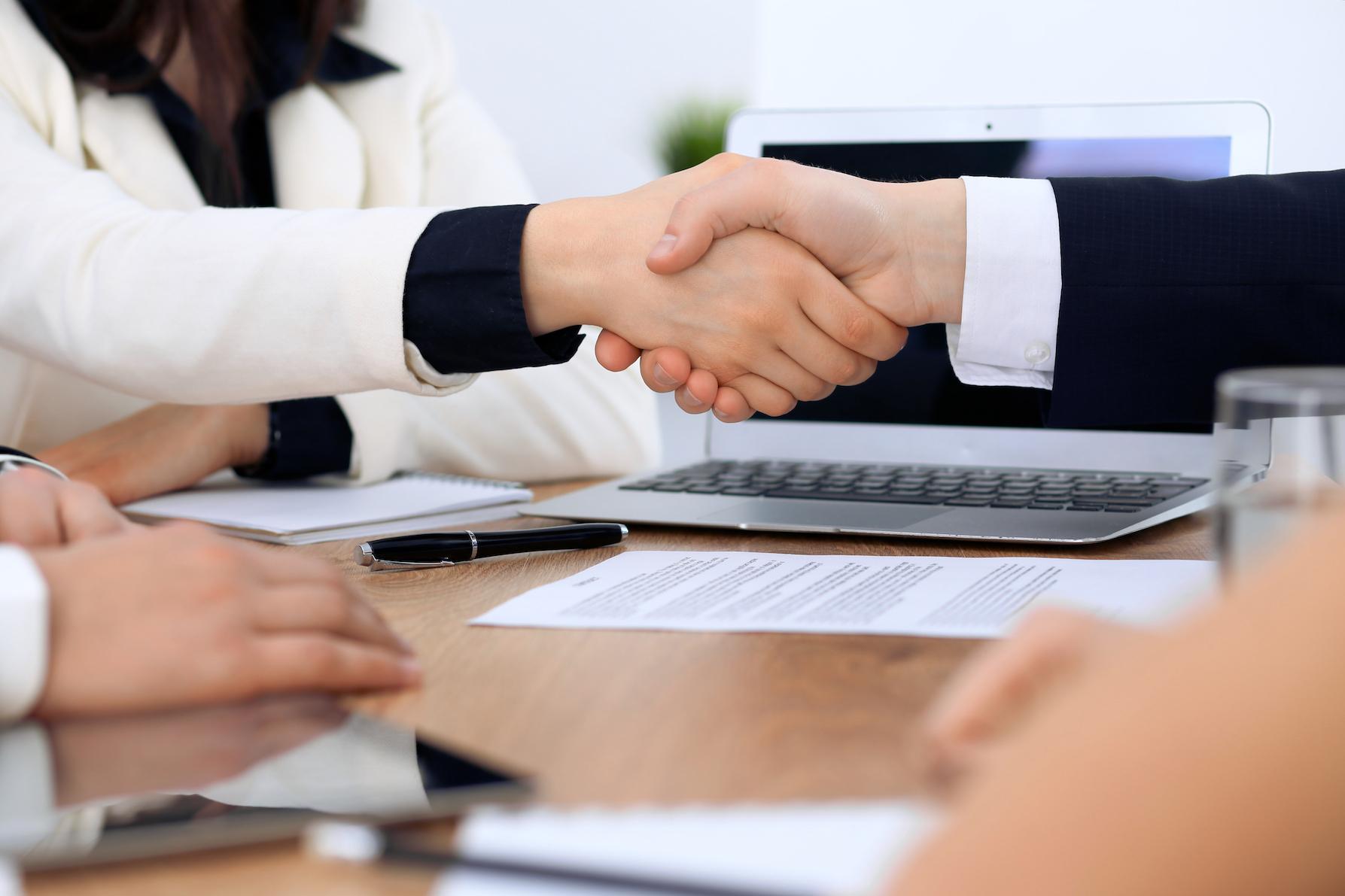 lawyers negotiating