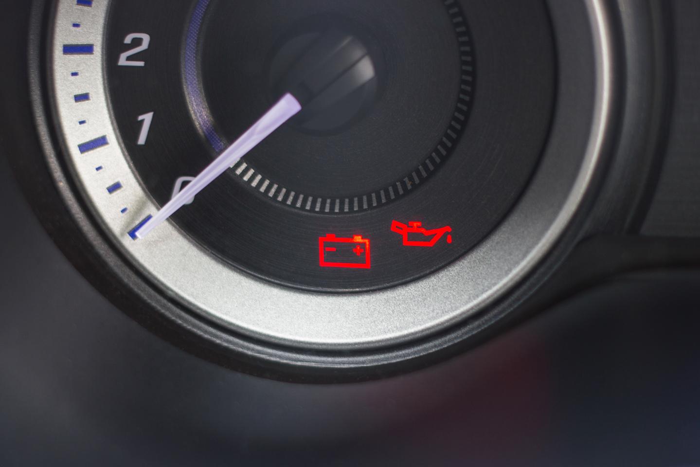 defective car battery