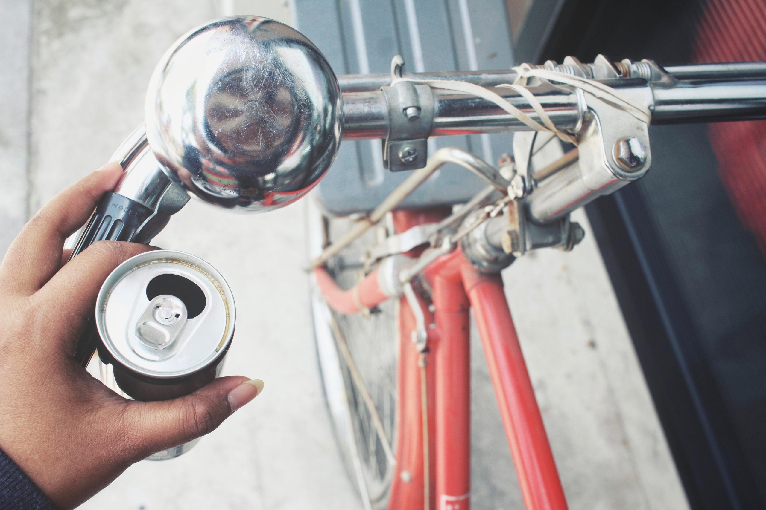 drinking and biking