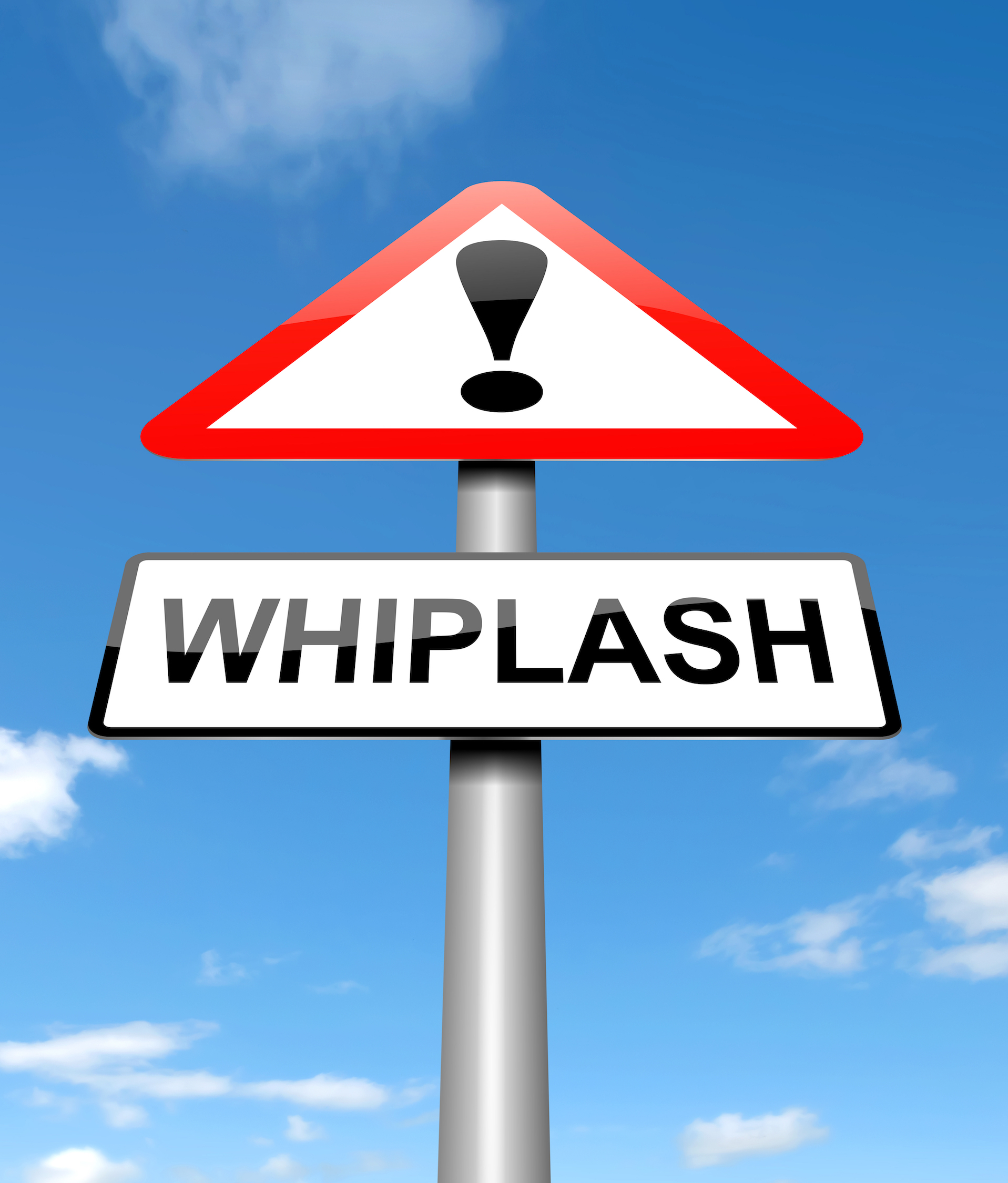 whiplash sign