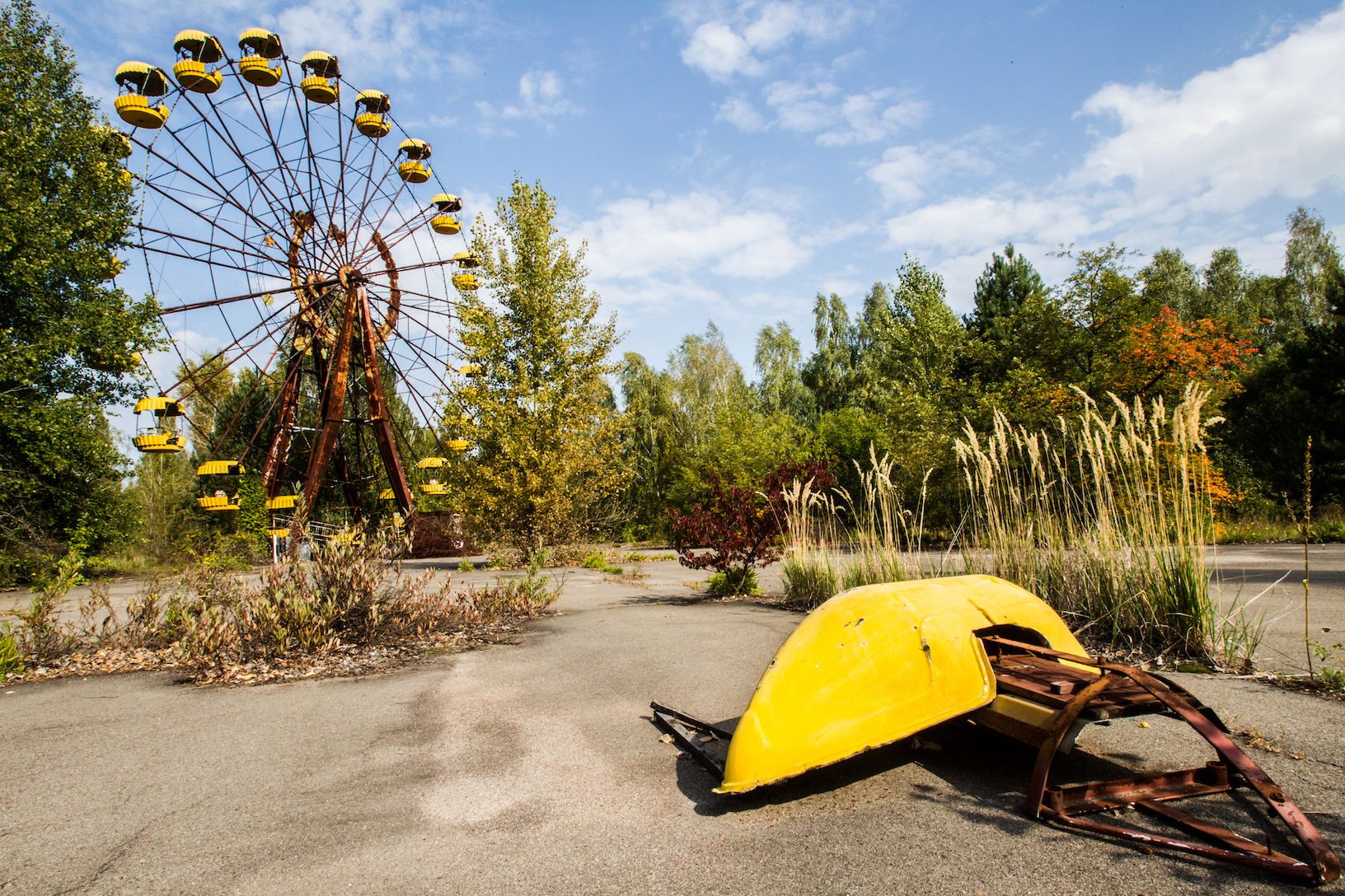 catastrophic event abandoned park