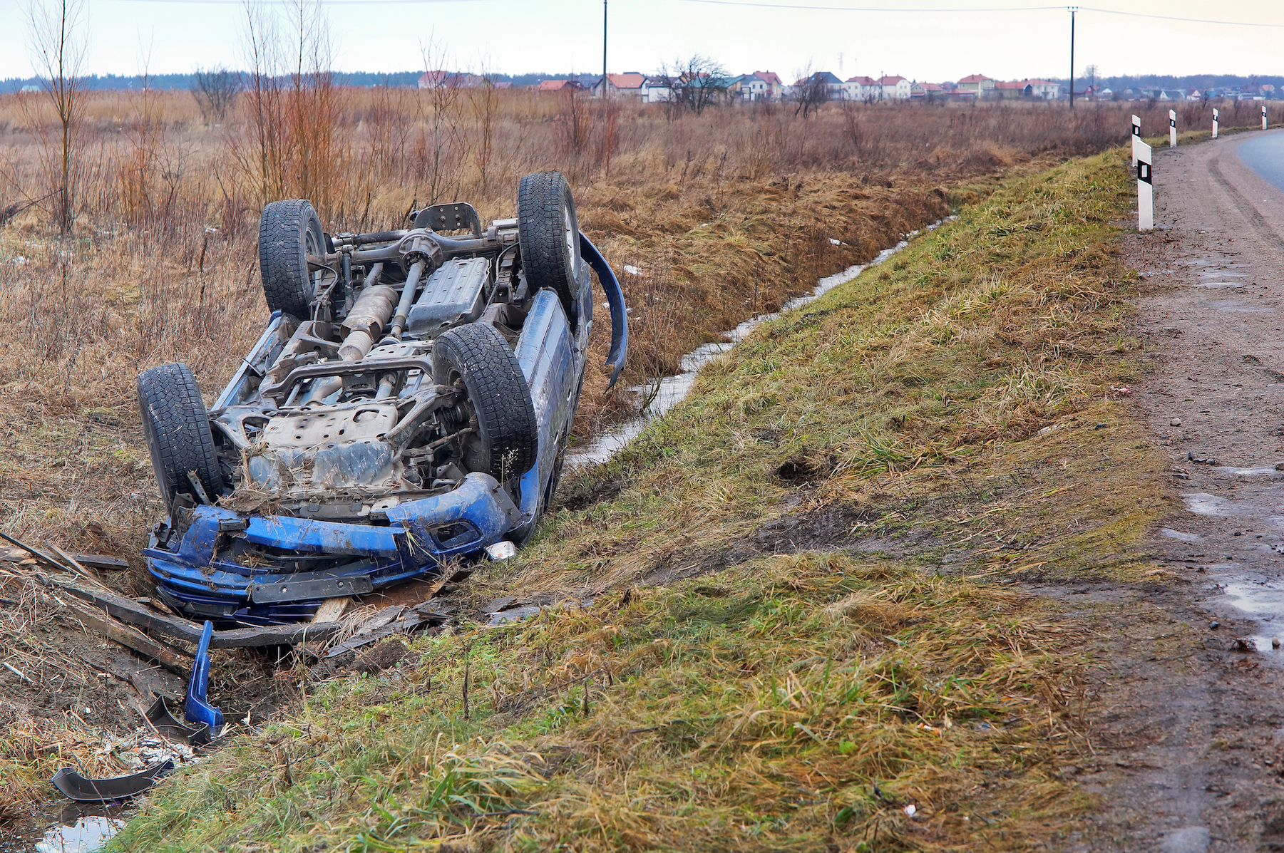 rollover accident