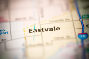 Eastvale map